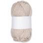 Wolle Stricklieseloptik, Farbe: Creme