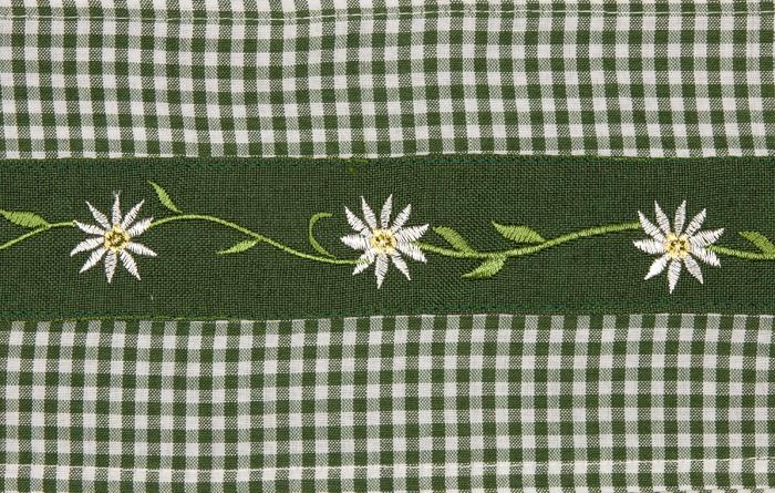 Tischband Edelweiss Seidenbander Dekorationsartikel