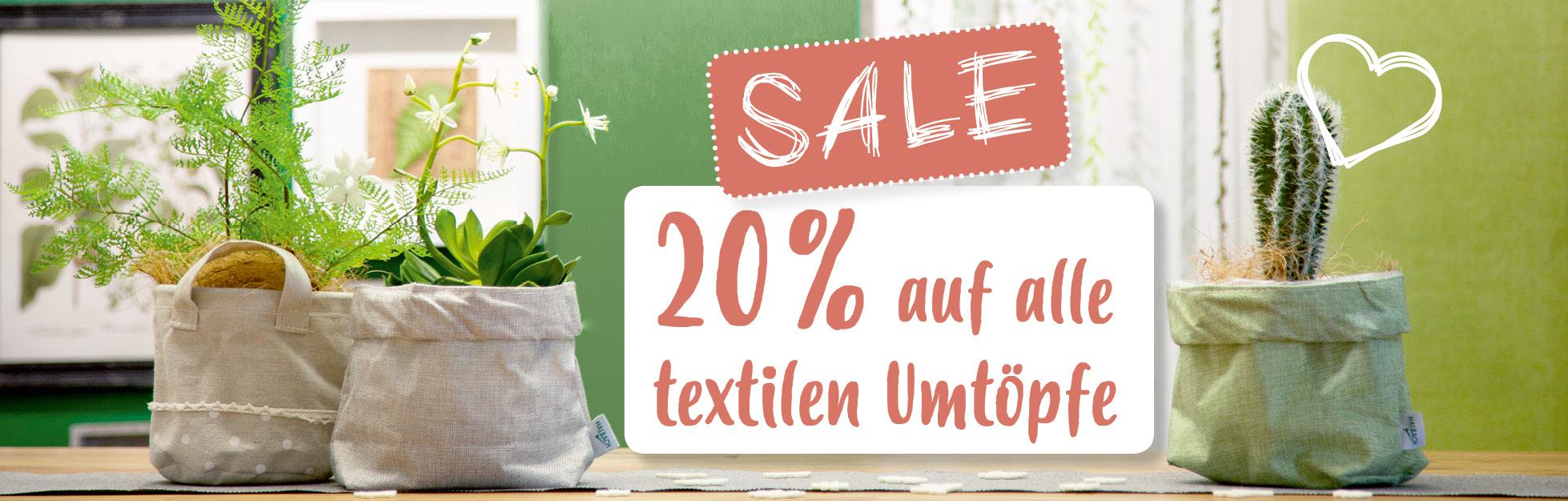 Startseitenbanner-Sale auf Töpfe